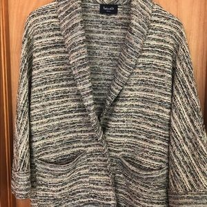 Splendid Textured Cardigan Sweater, Small